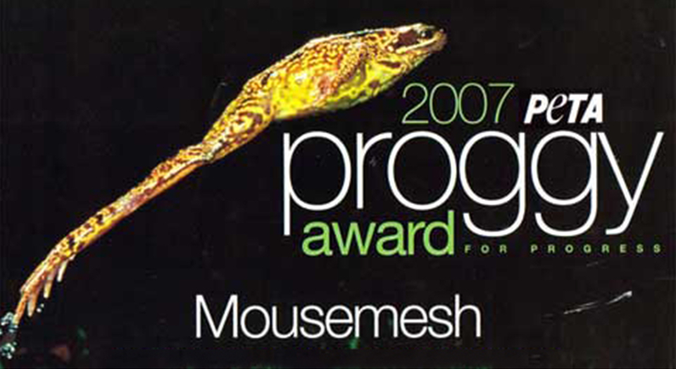 Peta Proggy Award for MouseMesh