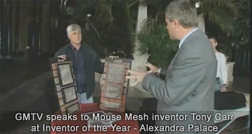 Gold Award for Inventor of the Year
