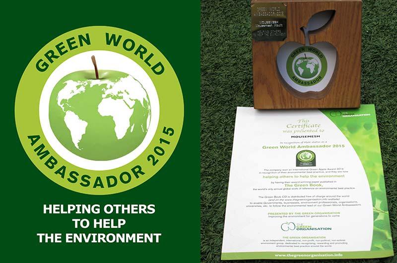 MouseMesh Green World Ambassador