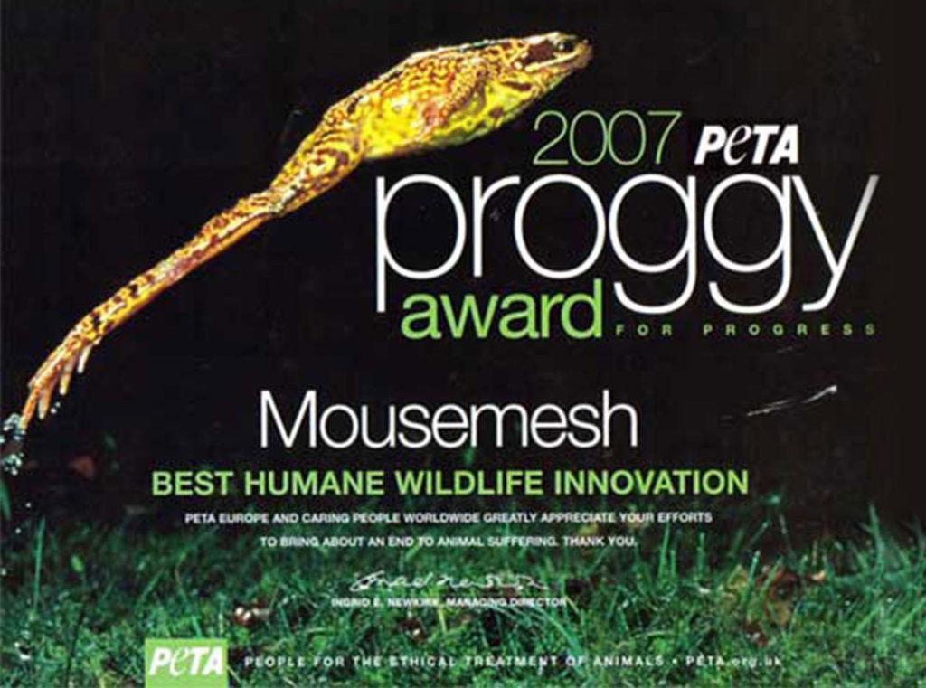 PETA - Proggy Award 2007, Best Humane Wildlife Innovation