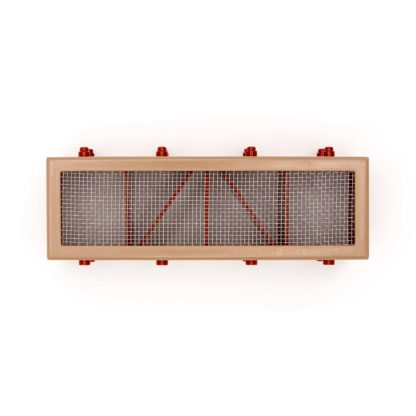 Humane Mouse Trap Airbrick Grill - Buff Closed