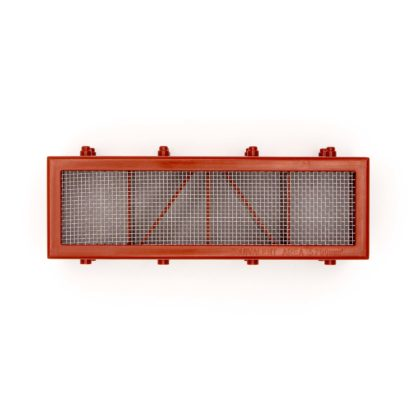 Humane Mouse Trap Airbrick Grill - Terracotta Closed