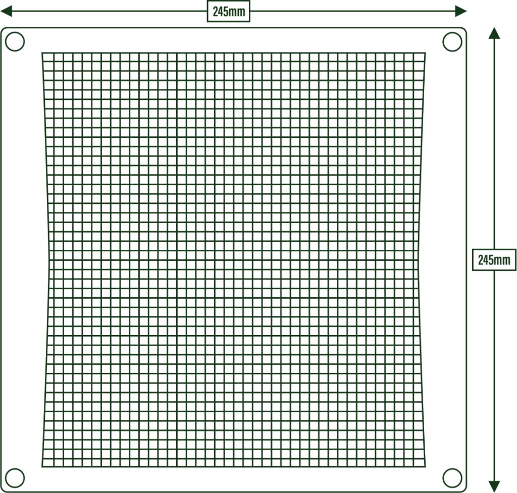 Wireframe MouseMesh Medium
