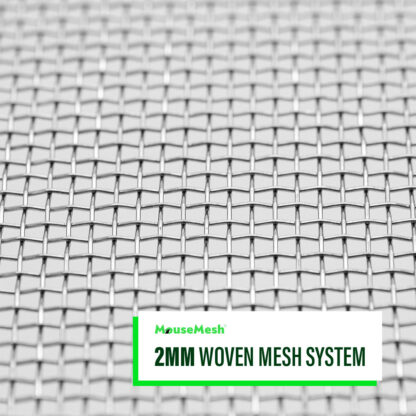 MouseMesh Air Brick Covers Pest Proofing - 2mm Woven Mesh System