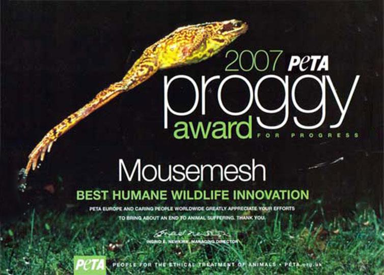 PETA Proggy Award